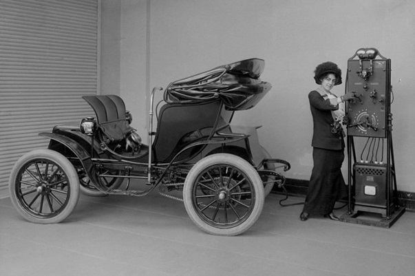 The History of the Electric Vehicle