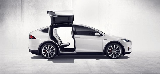 How does a Tesla door handle work?