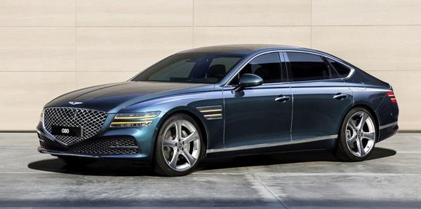 2021 G80: Mid-Size Luxury Sedans from Genesis