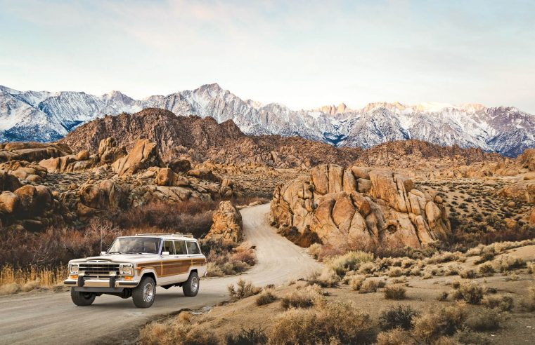 Get a vintage jeep in an all-new look from Vigilante