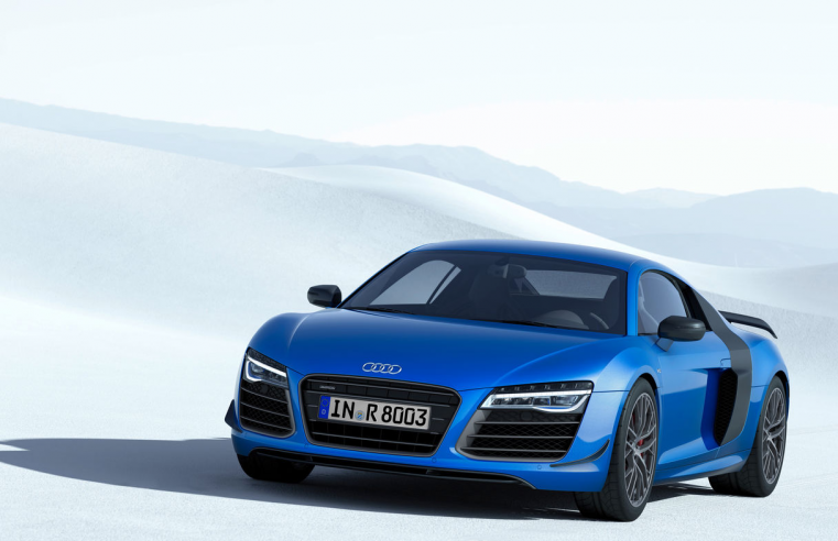 Audi, First Car Manufacturer to Use Laser Technology