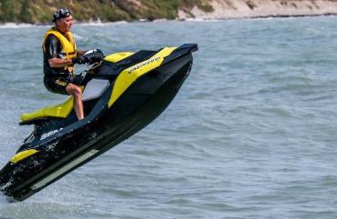 Sea-Doo jet boats and no jet skis